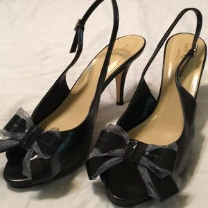 Kate Spade Bow Slingback Heels